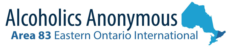 Alcoholics Anonymous - Area 83 Eastern Ontario International